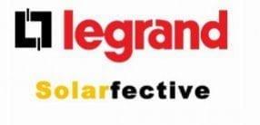 Legrand Solarfective logo