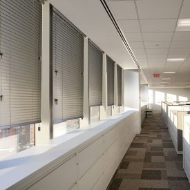 Norman horizontal blind offices