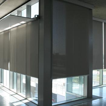 Office building solar blind